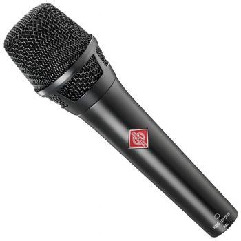 NEUMANN KMS104 Plus Microfono Cardiode, Vocalista - Directo, Negro