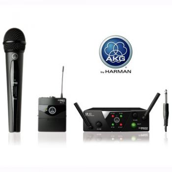 AKG WMS-40 MINI DUAL VOCAL INSTRUMENTAL SET Inalambrico Micro-Petaca
