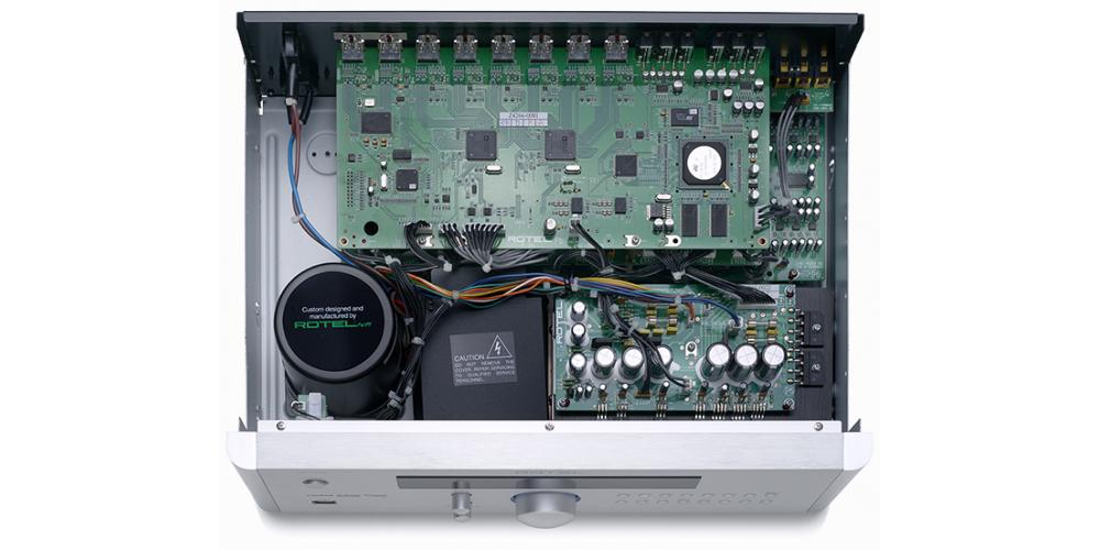 rotel rsp1572 fabricacion componentes