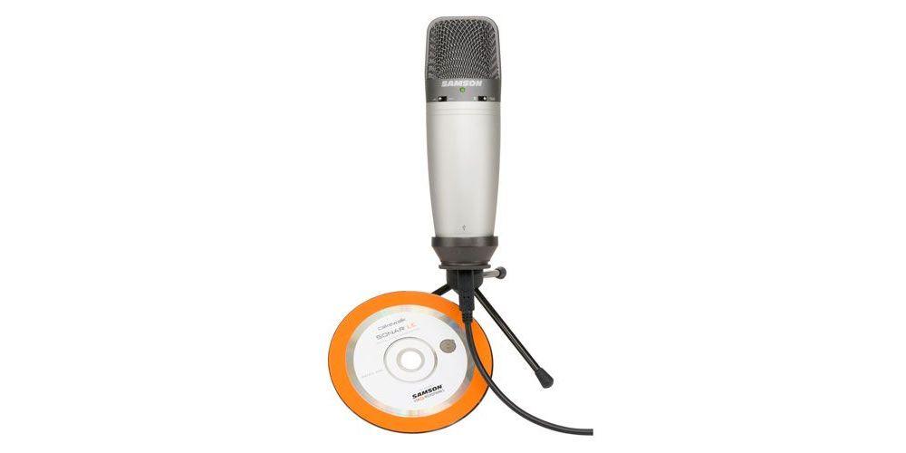 SAMSON C03U Microfono de Condensador USB C-03U