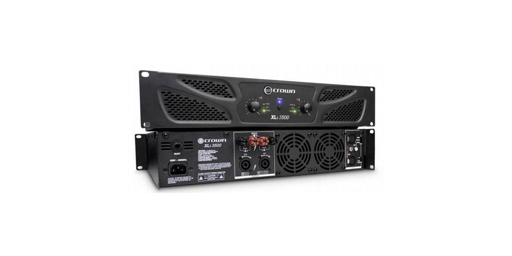CROWN XLI-3500 Etapa Potencia 1000 W A 8 Ohmios