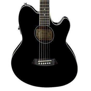 Ibanez TCY10E BK Guitarra Electro Acústica