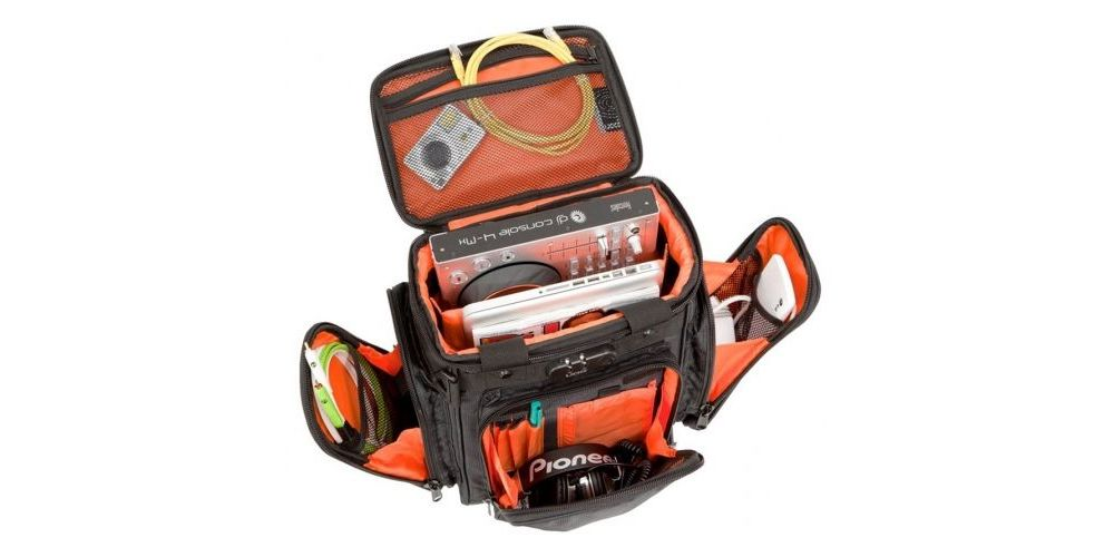 UDG U9023BL/OR Ultimate ProducerBag Small Black/Orange inside