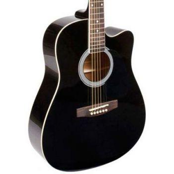 OQAN QGA21C Bk Guitarra acústica