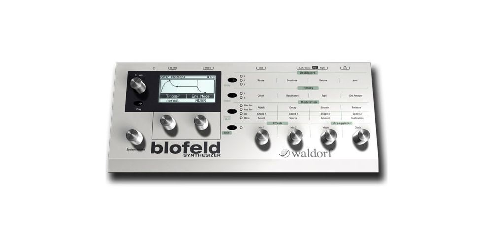 Waldorf Blofeld White Sintetizador