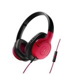 Audio-Technica ATH-AX1iS-RD Auricular Rojo