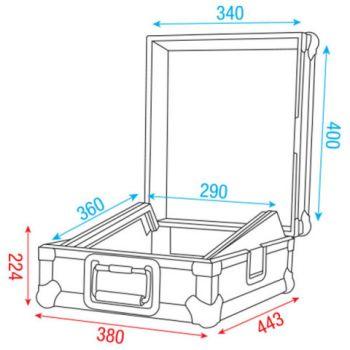 Dap Audio 12 Mixer case D7574