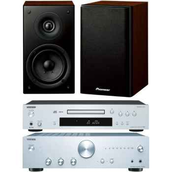 ONKYO A9010-SI+C7030-SI+Pioneer SCN301