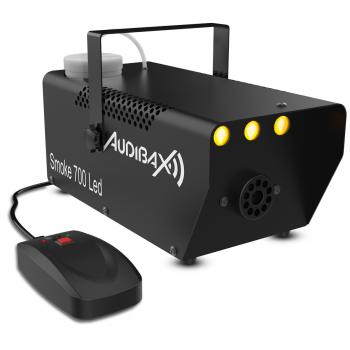Audibax Smoke 700 LED Maquina Humo 700W Discoteca Portatil + Mando