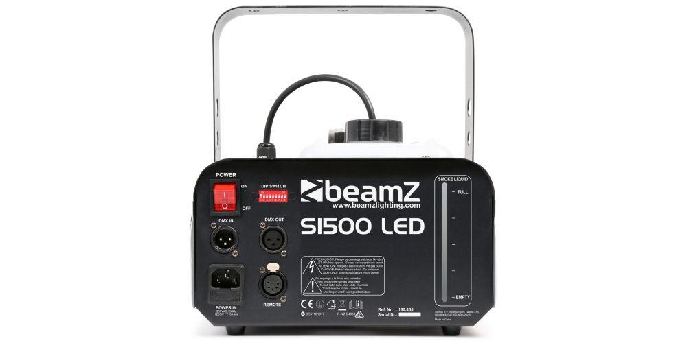 comprar maquina humo Beamz S1500 LED 160455