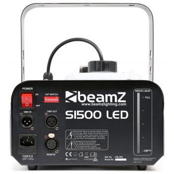 Beamz S1500 LED Maquina de Humo con Leds 9x 3W RGB DMX 160455