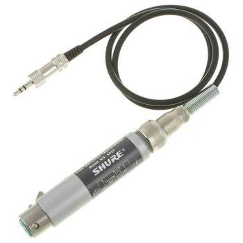 SHURE A96F Transformador de Impedancia para Cámaras XLR3 h minjack 3.5