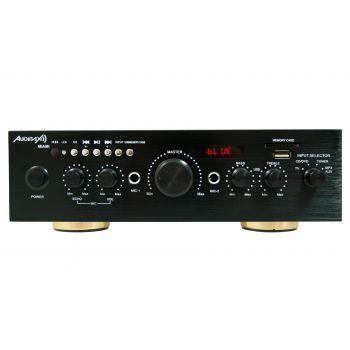 Amplificador Bluetooth  / Karaoke 100 W Audibax Miami. Entrada Microfono, SD / USB ( REACONDICIONADO )