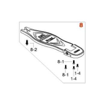 Tama HP90N8 Estribo completo pedal Iron Cobra (modelos a partir de 2016)