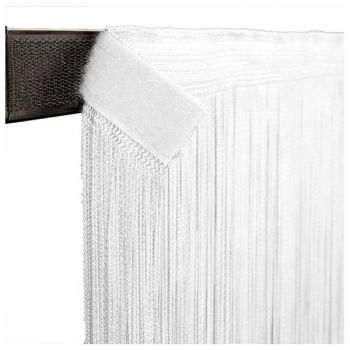 Showtec String Curtain 3m Width Cortina para Escenario 4h x 3w Blanco 89163