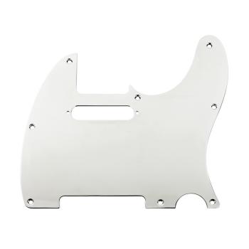 Fender Golpeador Telecaster 8 agujeros de montaje Plata Cromado
