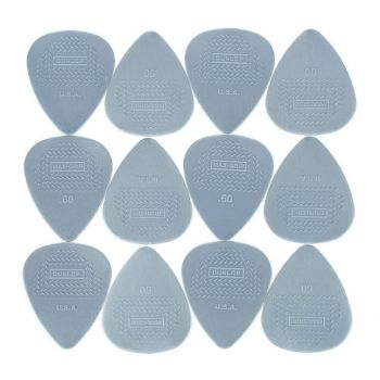 Dunlop Nylon Max Grip 0.60 mm Set 12 Unidades