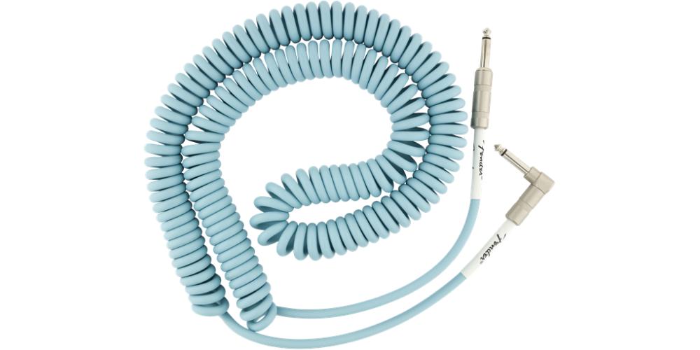 fender original coil cable 9m daphne blue