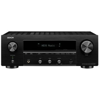 DENON DRA-800H Black Receptor estereo Audio Red Black