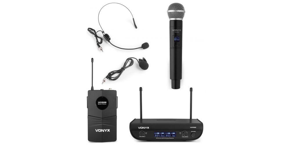 VONYX WM 82C Microfono Inalambrico