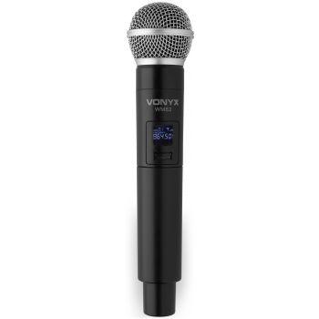 VONYX WM-82C Microfono Inalambrico con mano y cabeza 179215