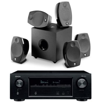DENON AVR-X1400H+Focal SIB EVO 5-1