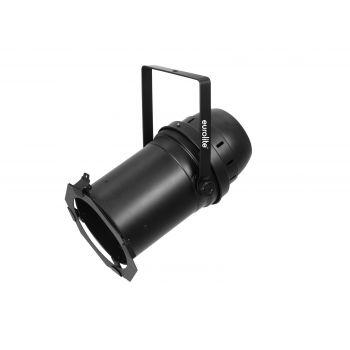Eurolite LED PAR-64 COB RGBW 120W Zoom Black Foco Teatro Zoom
