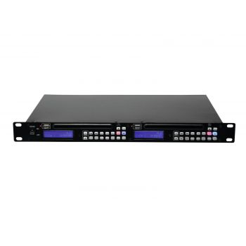 Omnitronic DMP-202 Reproductor Dual USB y CD