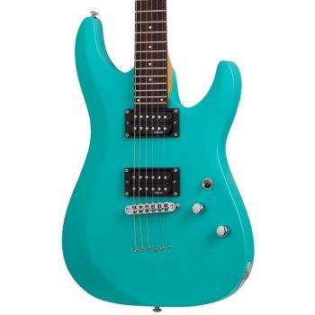 Schecter C-6 Deluxe Satin Aqua. Guitarra Eléctrica