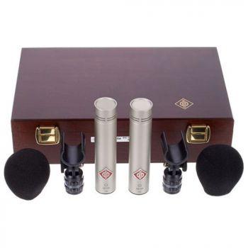 NEUMANN KM-184 Stereo Set Microfono Cardioide, Niquel,