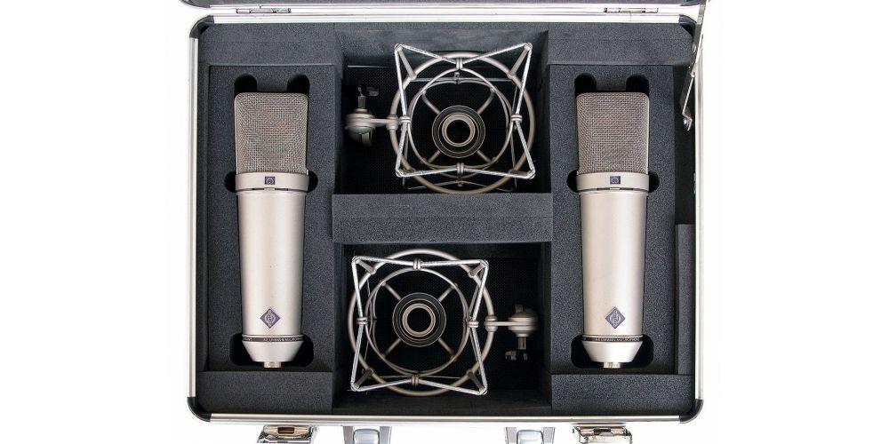 neumann u 87 ai stereoset microfonos