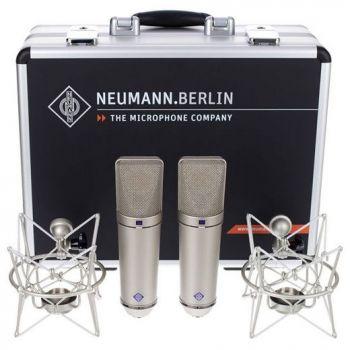 NEUMANN U-87 Ai STEREO SET Micrófono Multipatrón Niquel