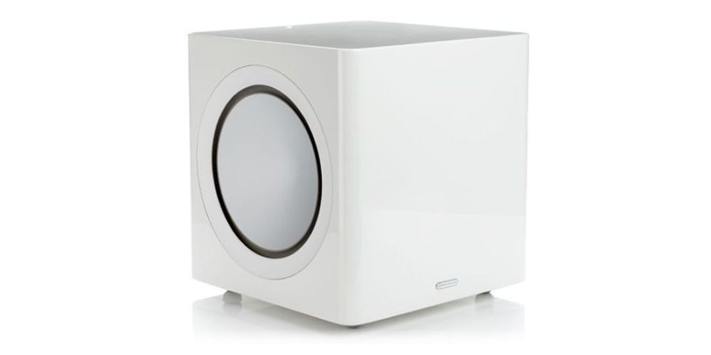 radius 390 white monitoraudio
