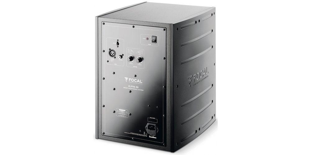 focal alpha 80 monitor conexiones controles
