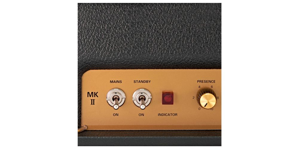 Marshall JTM45 2245 cabezal controles