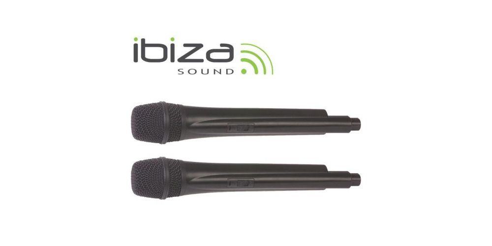 MICROFONO IBIZA SOUND UHF20 INALAMBRICO