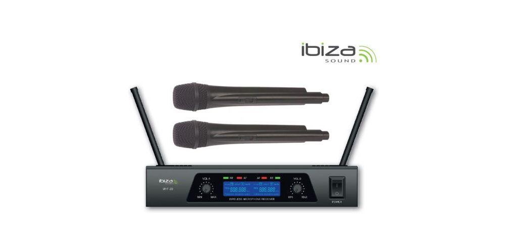 MICROFONO INALAMBRICO IBIZA SOUND UHF20