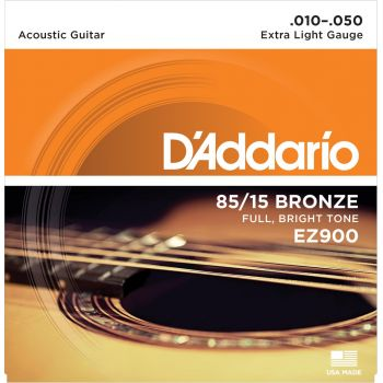 D Addario EZ900 Cuerdas Guitarra Acústica