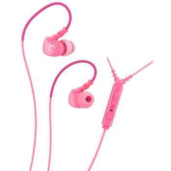 Mee Audio M6P Rosa Auriculares deportivos In Ear con control