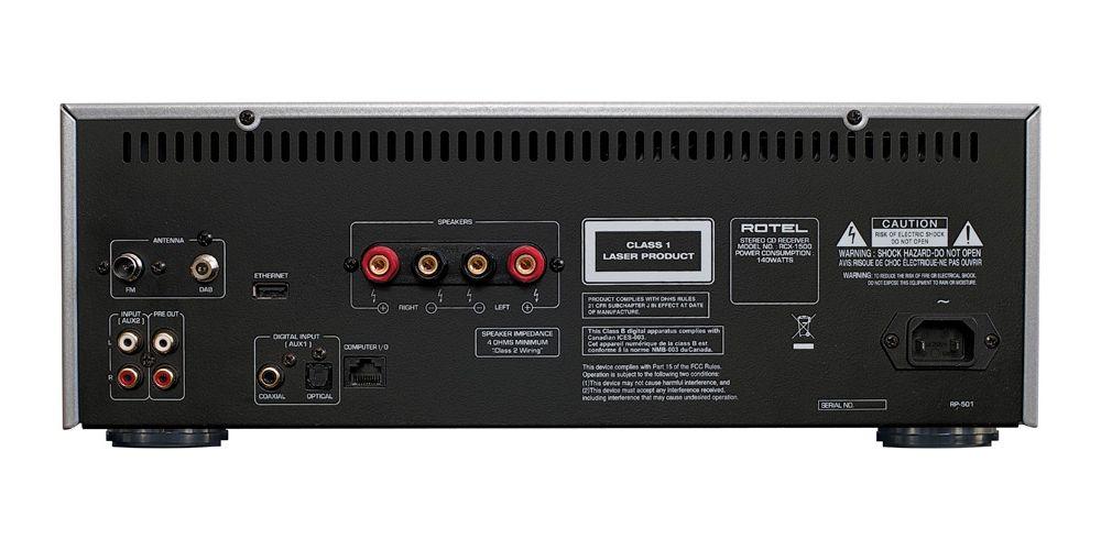 rotel rcx 1500 conexiones black