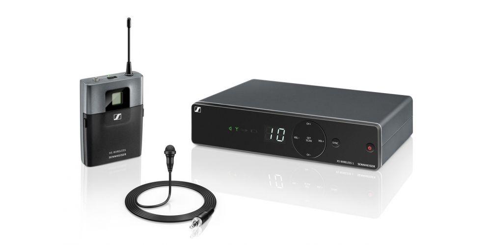 Sennheiser xsw 1 me2 microfono lavalier set
