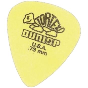 Dunlop Tortex Set Puas Amarillas 0,73 mm, 72 Unds. ADU418R73