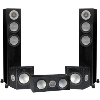 Monitor Audio Silver 200 AV12 Black , Silver200+silverFX+Silver C150