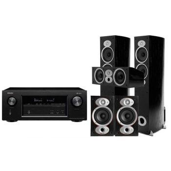 Denon AVR-X4400+ Polk Audio RTI A5+RTI A1+CSI A4