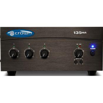 Crown 135MA Amplificador Mezclador de 1 entrada