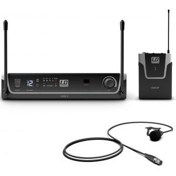 LD Systems U305 BPL Sistema inalámbrico con Petaca y Micrófono Lavalier