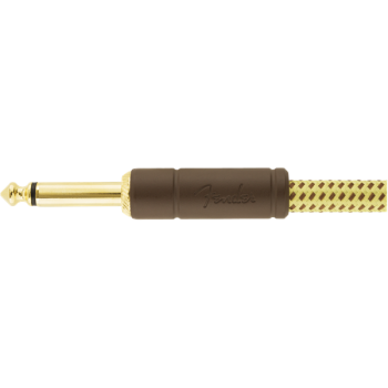Fender Cable  Deluxe Tweed Natural 1,5m Jack Mono a Jack Mono