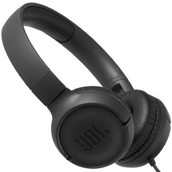 JBL T500 Negro Auricular On Ear HiFi Tune 500