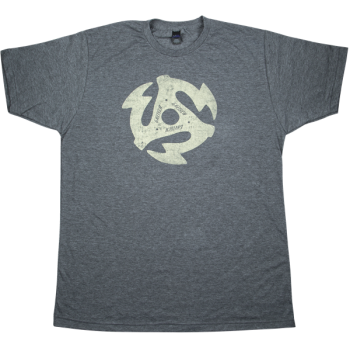 Gretsch 45RPM T-Shirt Gris Jaspeado Talla XL