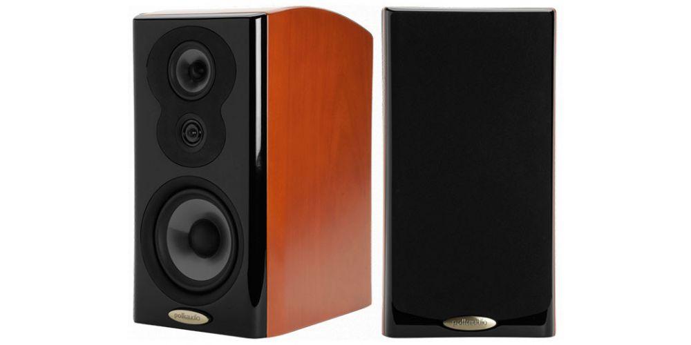 polk audio lsim703 altavoces de estanteria pareja walnut